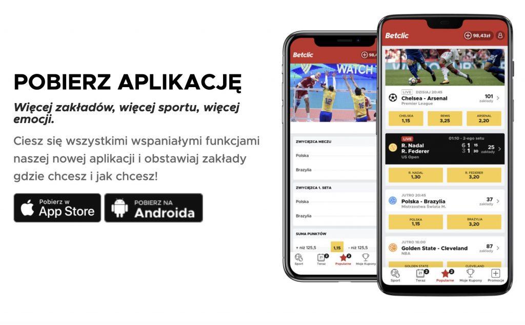 BetClic aplikacja mobilna. Jak pobrać na iOS?
