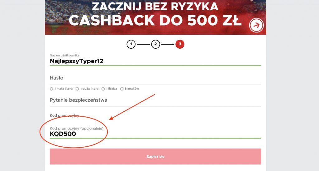 500 PLN na start w BetClic Polska!